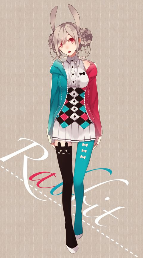 Anime tricolor con orejitas