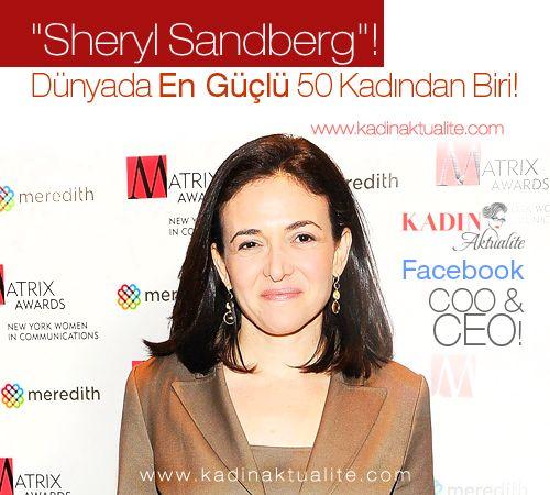 Sheryl Sandberg Kimdir | Kadın Aktüalite