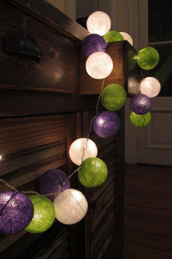Guirnaldas de luz