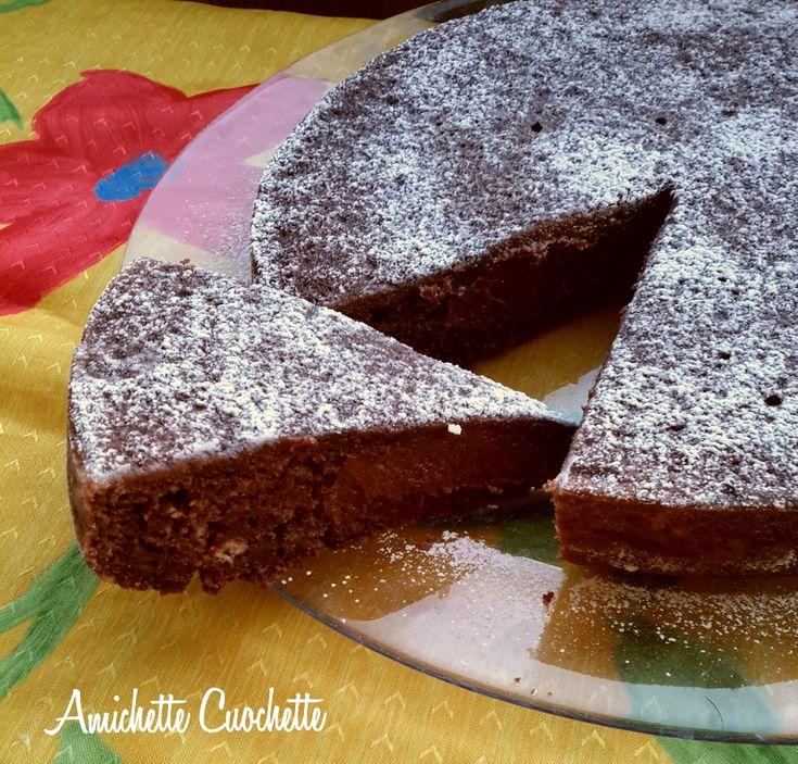 Torta dolce di patate e cacao