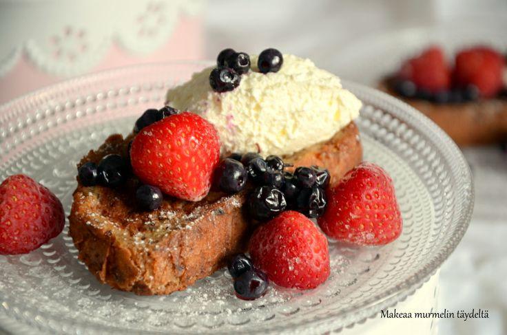 french toast - köyhät ritarit