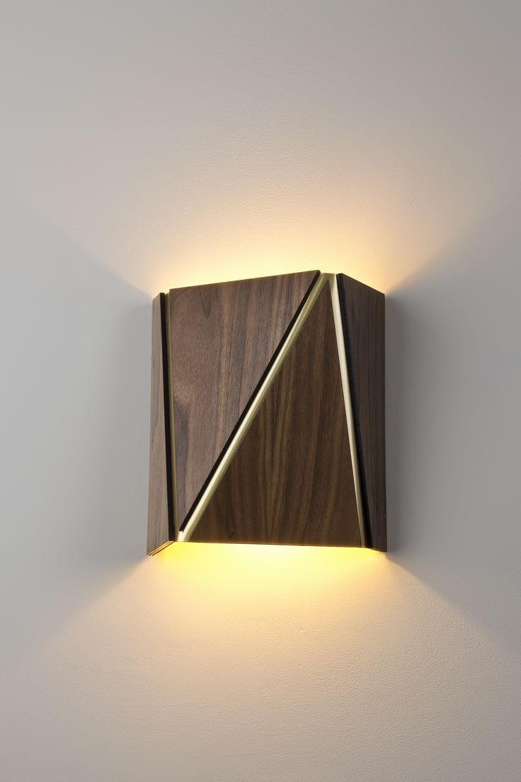 Wall Lamp New Design : 17 Best ideas about Wooden Lamp on Pinterest Wood lamps, Wood lights and Light design