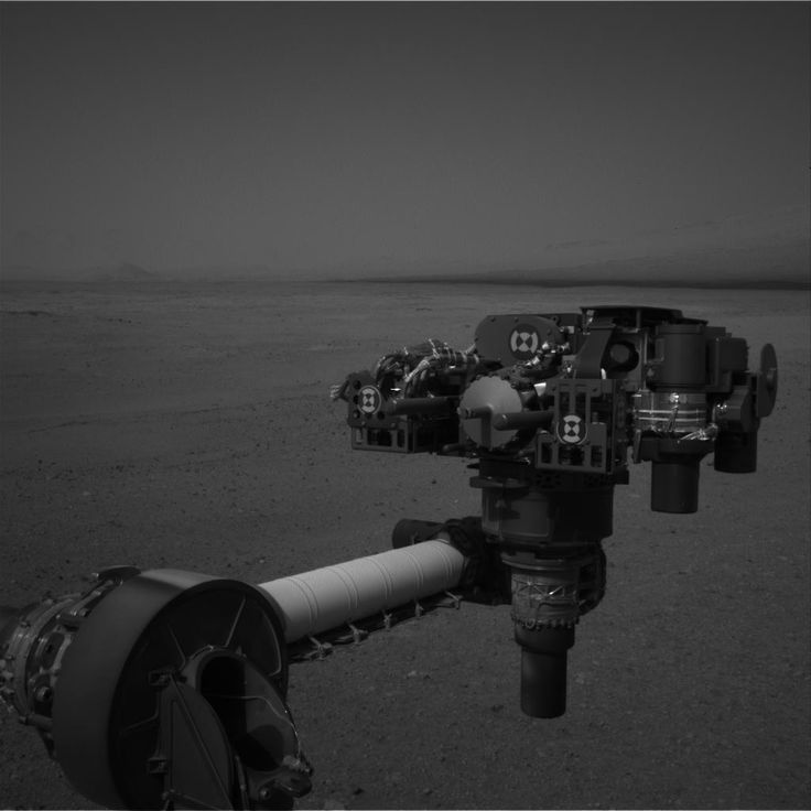 Photo: Curiosity's Arm (from Mars)