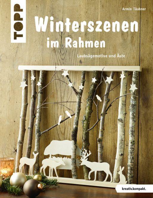 Winterszenen im Rahmen | TOPP Bastelbücher online kaufen