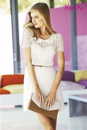 vestidos-cortos-vestido-sexy-encaje-blanco
