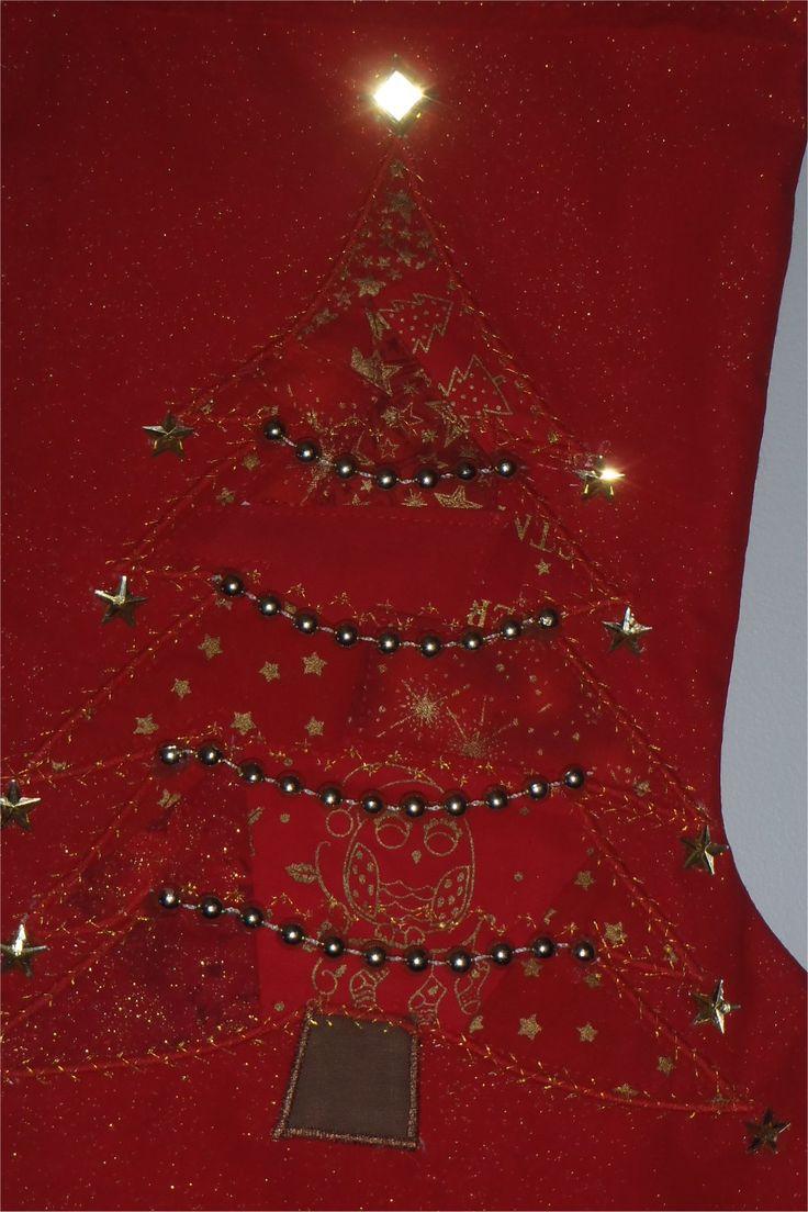 201659 - close up of Christmas tree design