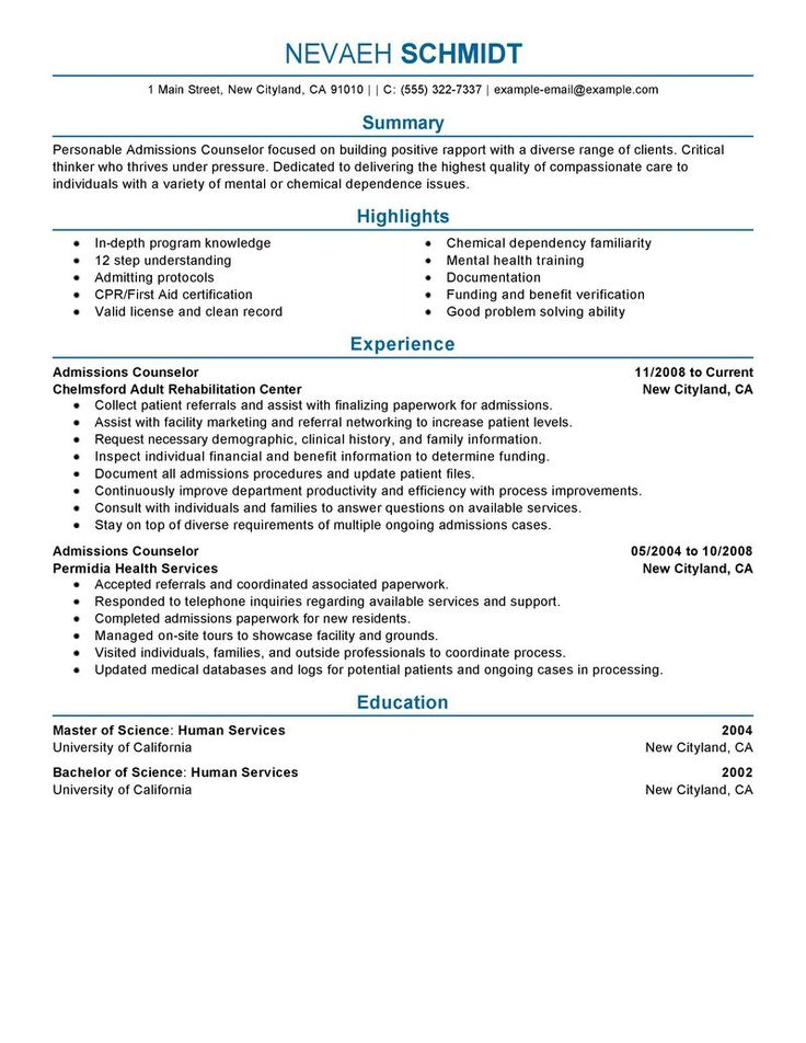 amazing social services resume examples livecareer admissions counselor sample