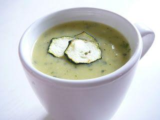 Delicious blog: Cuketová polévka s parmazánem