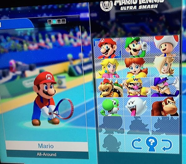Mario Tennis: Ultra Smash for the Wii U - play vs the computer or up to 4 players, multiple game modes and a minigame too. Ad