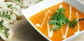 Simpel soep recept met zoete aardappel en paprika voor na de feestdagen | Fashionlab