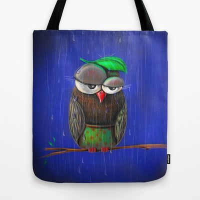 Rainy days Tote Bag by ioanazdralea - $22.00