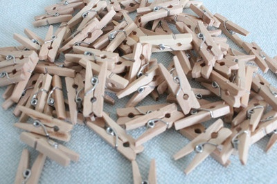 These mini pegs are great for craft, handmade craft for scrapbooking . You can use these lovely looking mini pegs for gift cards, for closing the top of lolly bags for Birthday Parties and Baby Shower's or can be used to hang your pictures with twine or with ribbons.    These are also great for decoration in wedding for table placement cards.    You can paint these great looking pegs in almost any colour or can be used as such in natural colour.$8.95