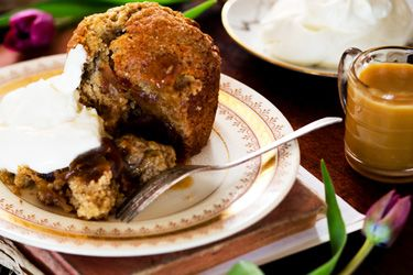These sticky banana and date puddings are my mother's recipe, sourced from one of the many books I have full of handwritten recipes collecte...