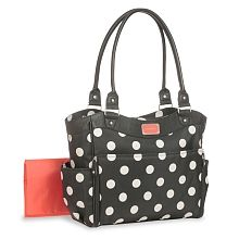 Babies R Us Carter's Tote Diaper Bag - Polka Dots Totally put this on the registry immediately.  This bag suits me! So perfect