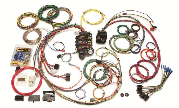 Painless Wiring 20102 25 Circuit Classic