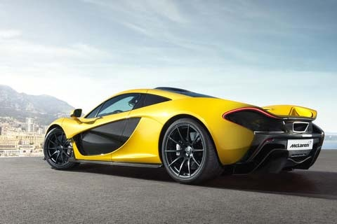 McLaren P1 Electric Hybrid Supercar to Cost $1.15 Million - EVWORLD.COM
