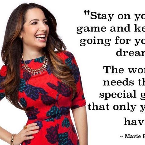 #marchismagical #day5 Someone I admire 💗 Mama Marie aka @marieforleo 😊 Founder of Bschool & Marie TV 📺Funny, sassy, beautiful, kind heart, inspiring, straight up, go getter, generous, talented. Just an all round awesome human being, doing her thing & helping others do theirs 💗 Bschool 2017 rounds starting now 🙏🏼 Holla at me bschoolers 😊