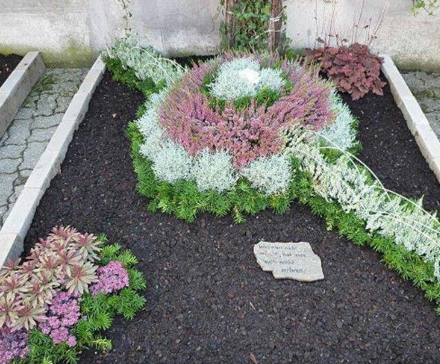 89 besten Friedhof Bilder auf Pinterest Grabschmuck, Beerdigung - grabgestaltung mit kies anleitung