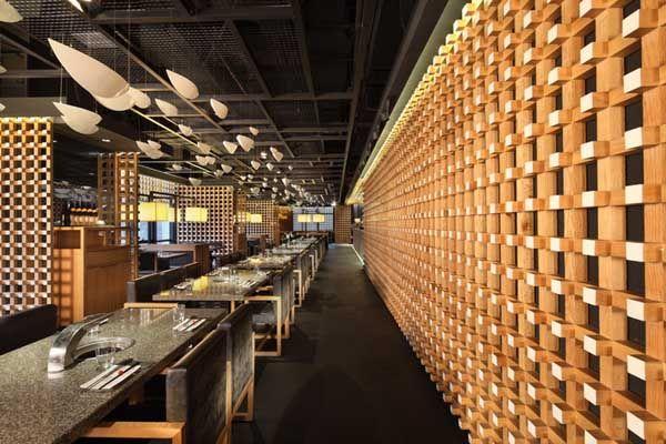 Restaurant japonais idées de design d'intérieur5