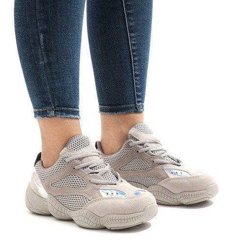 Szare Buty Sportowe Ms522 26 Women Sport Sneakers Sports Shoes Shoes