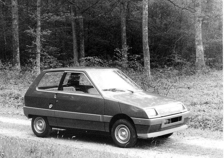 OG   Citroën Z project   Running prototype