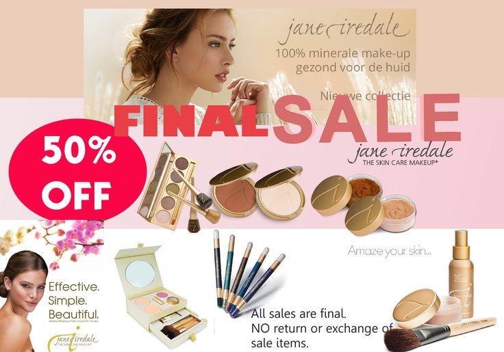 50 OFF All JaneIredaleMakeup. Perfectgift for