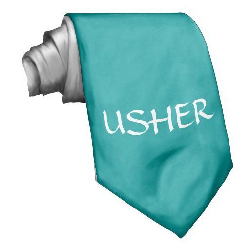 USHER - tie