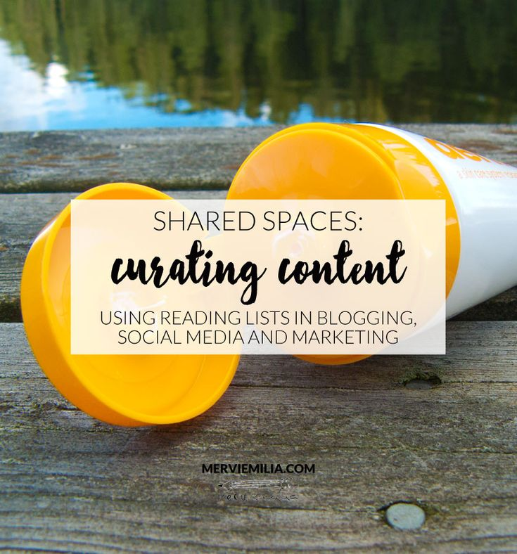 How to use content curation in blogging, social media and marketing. A reading lists for you, if you are interested in curating content for your following.
