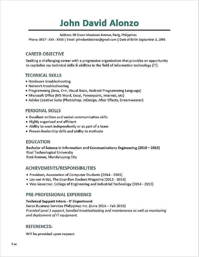 Pin by Steve Moccila on Resume templates Functional resume samples