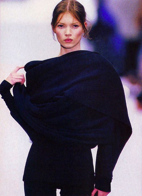 supermodelgif: Kate Moss at Complice f/w 1993
