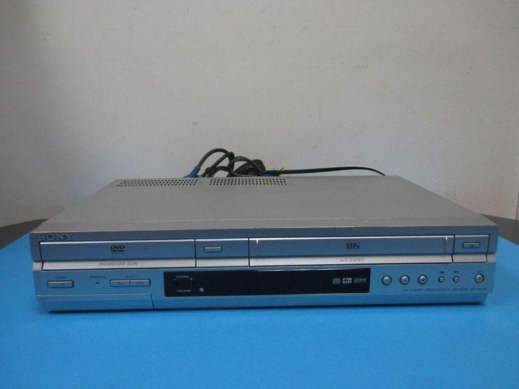 Sony SLV-D350P VCR DVD Combo Video Cassette Recorder VHS  #Sony