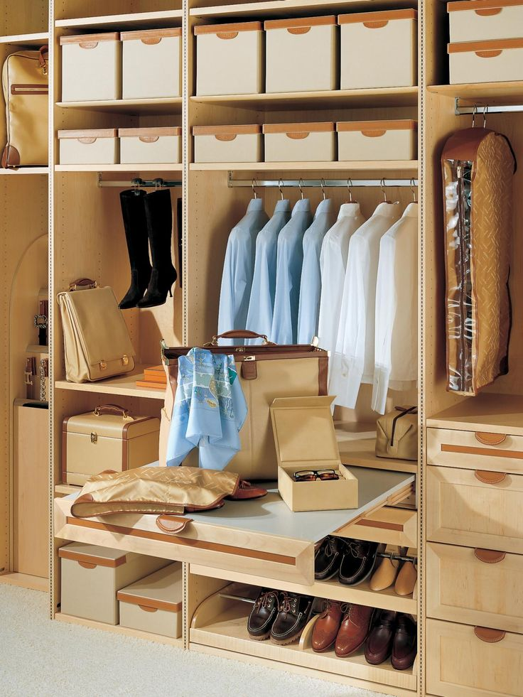 Specialty Features for Your Closet Walk In