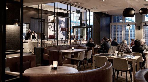 Woonlandschap de Leyhoeve in Tilburg Grandcafé en restaurant.