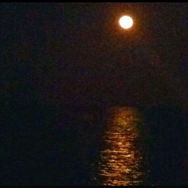 The Devil's Moon at  the southernmost point in the US - Key West Florida  May 2012