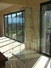 Showerline in South Africa makes and installs bespoke and standard order frameless luxury shower enclosures. Visit a showroom in Cape Town or Johannesburg or call for a consultant to call on you www.showerline.co.za
