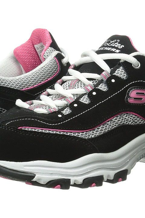 SKECHERS D'Lites Life Saver (Black) Women's Lace up casual Shoes - SKECHERS, D'Lites Life Saver, 11860-BKWP, Footwear Closed Lace up casual, Lace up casual, Closed Footwear, Footwear, Shoes, Gift, - Street Fashion And Style Ideas