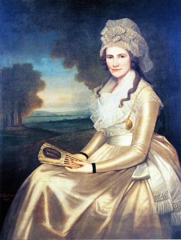 Apphia Ruggles, Mrs. Jared Lane, 1796.