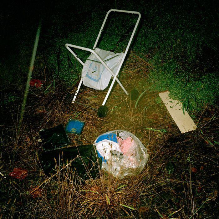 Glenn Sloggett Untitled (Pram), 2001 from Lost Man