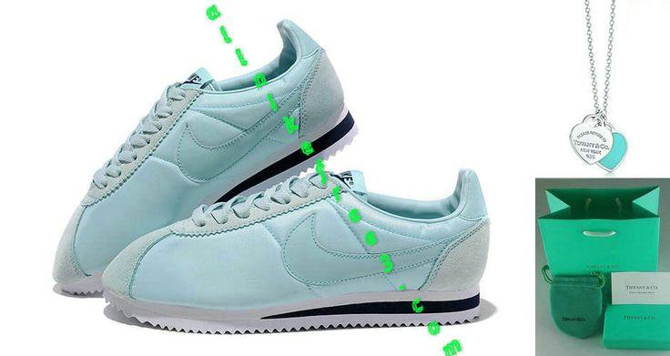 Nike Classic Cortez Nylon Womens Tiffany Blue 457226 301
