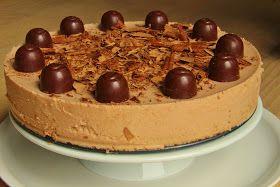 V kuchyni vždy otevřeno ...: Griotkový mascarponový dort