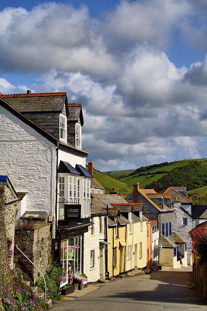 """The pretty village of Port Issac, on the north coast of Cornwall is the location used for """"Doc Martin"""" (scheduled via http://www.tailwindapp.com?utm_source=pinterest&utm_medium=twpin&utm_content=post5694282&utm_campaign=scheduler_attribution)"""