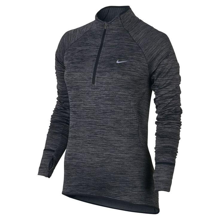 Nike Element Sphere 1/2 Zip W - Naisten pitkähihainen paita - Intersport