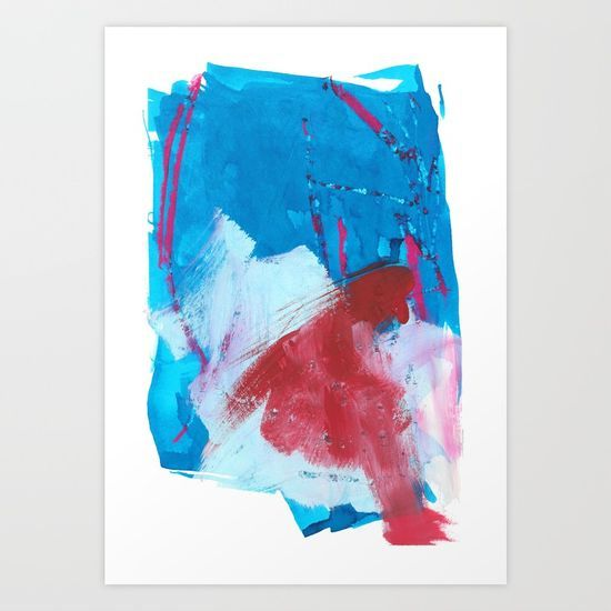 """""""A Letter To A Friend"""" abstract art by Leanne Simpson. This artwork is available at Society6 as an art print, phone case, tote bag and more! https://society6.com/leannesimpsonart"""