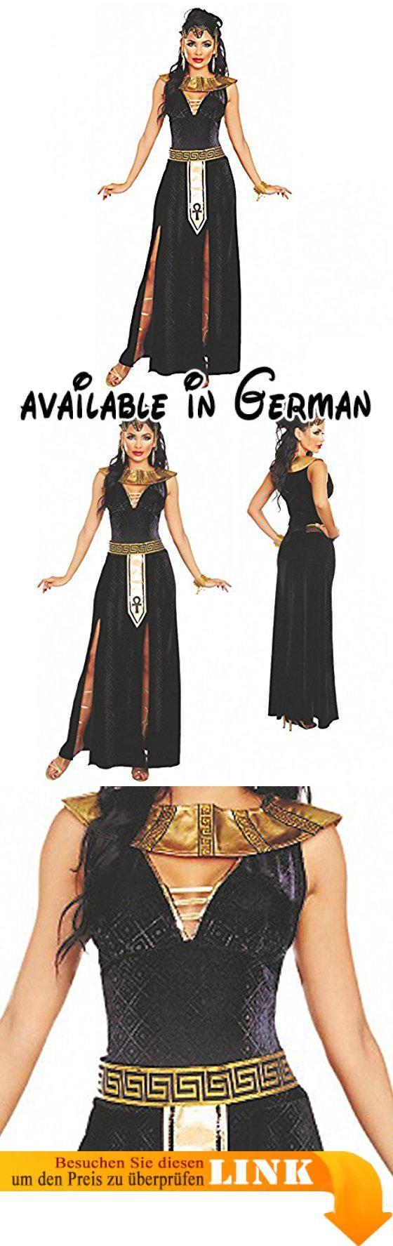 Kostüm Cleopatra Alexia Gr. XS-L Kleid lang Kragen Gürtel Ägypterin Antike (Small). Damen Kostüm Cleopatra. Lieferung 3-tlg.: Samt-Kleid, Kragen, Gürtel. Gr. XS bis L. Achtung: Auszeichnung in amerikan. Größen, Versand in dt. Größen. Lieferung ohne Kopfschmuck #Toy #TOYS_AND_GAMES