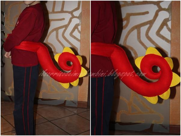 Il Sorriso dei miei Bambini: Carnevale: la coda del drago