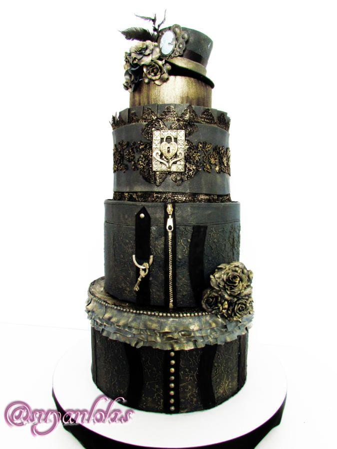 punk wedding cakes 10 images about steampunk cakes on steam 18846