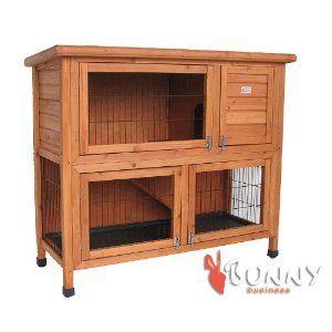 41 Double Decker Rabbit / Guinea Pig Hutch Hutches BB-41-DDL-11 Bunny Business: Amazon.co.uk: Pet Supplies 55.99 pounds