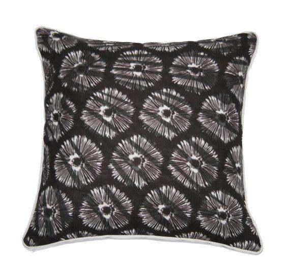 Modern cushion cover made in Australia by PeachyArtandTreasure