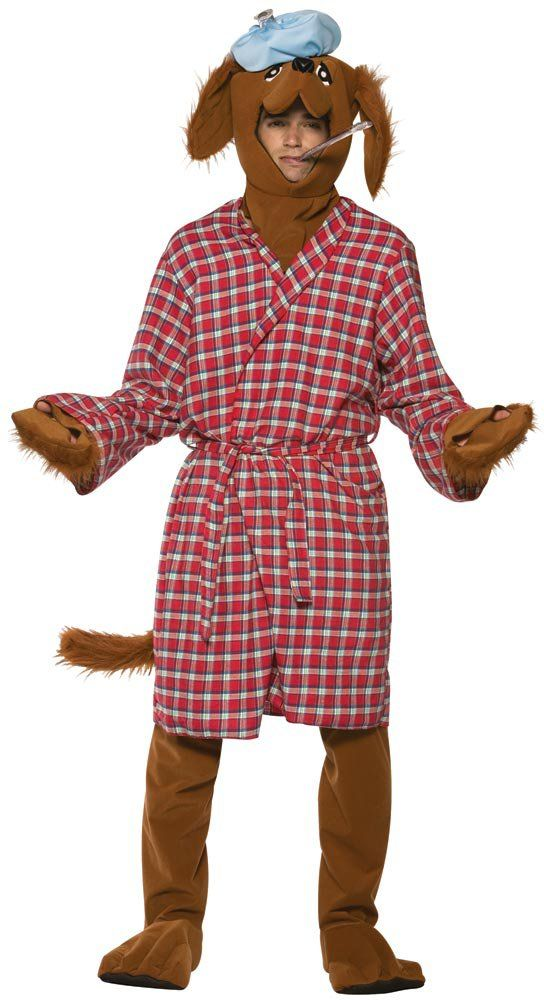 Mens Funny Sick as a Dog Costume Animal Costumes - Mr. Costumes