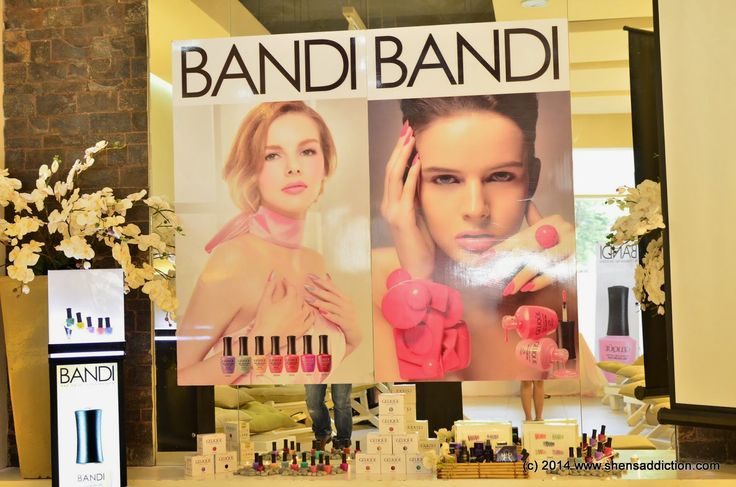 Bandi+Nails - No 1 Professional Nail Care in Korea. Free from DBP, Toluene & Formaldehyde and 'Silica Alumina' is now in KL ☺